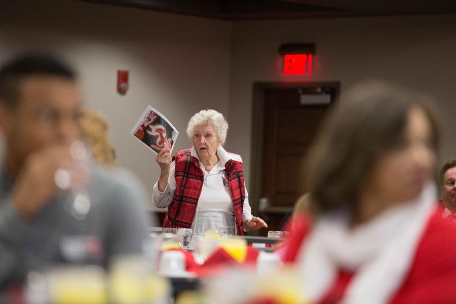 Alumna Cora Jane Spiller talks about the Herald homecoming magazine.