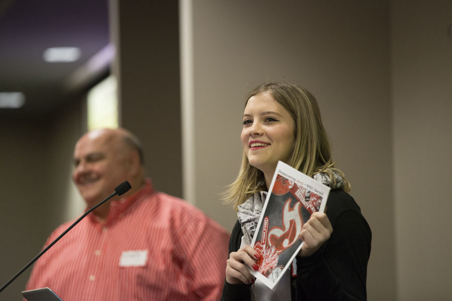 College Heights Herald editor-in-chief Kae Holloway talks about the Herald homecoming magazine.