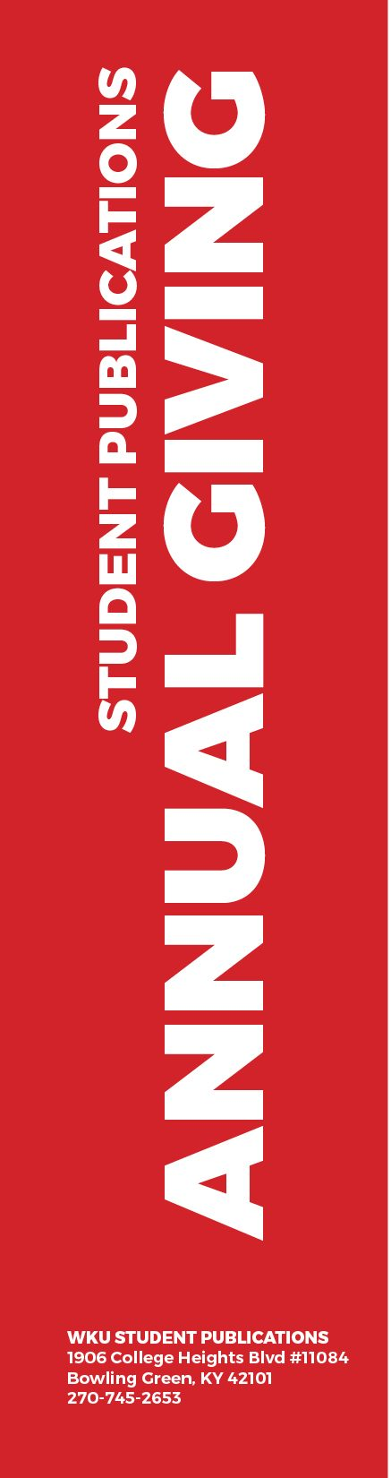 Student Publications Annual Giving